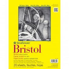 "Strathmore - Bristol Vellum Paper Pad 9"" x 12"" (20 sheets)"