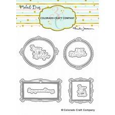 Colorado Craft Company - Wall Words (Anita Jeram) Dies