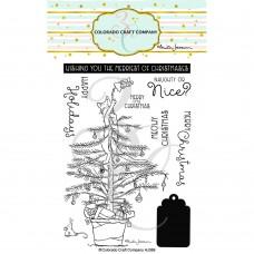 Colorado Craft Company - Christmas Tree Cat (Anita Jeram)