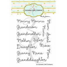 Colorado Craft Company - For Mom Names (Anita Jeram)