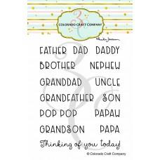 Colorado Craft Company - For Dad Names (Anita Jeram)