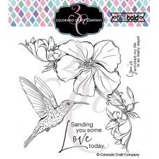 Colorado Craft Company - Big and Bold - Hibiscus Hummingbird
