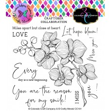 Colorado Craft Company x Crafty Meraki - Craftober Collaboration - Orchids