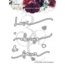 Colorado Craft Company - Savvy Sentiments - Always & Forever dies