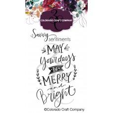 Colorado Craft Company - Savvy Sentiments - Merry and Bright Mini