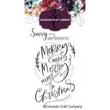 Colorado Craft Company - Savvy Sentiments - Merry Merry Mini