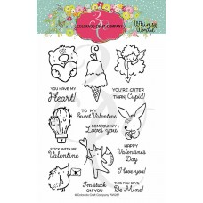 Colorado Craft Company - Whimsy World - Mini Love Cards