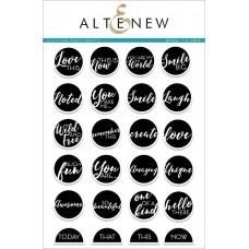 Altenew - Circled Sentiments Stamp Set