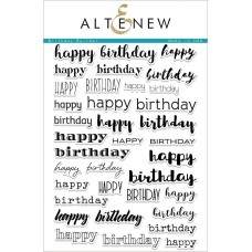 Altenew - Birthday Builder Stamp Set
