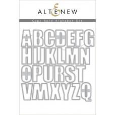 Altenew - Caps Bold Alphabet Die Set