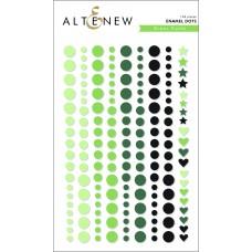Altenew - Green Fields Enamel Dots