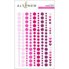 Altenew - Red Cosmos Enamel Dots