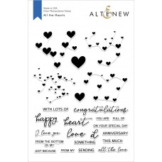 Altenew - All the Hearts Stamp Set