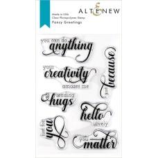 Altenew - Fancy Greetings Stamp Set