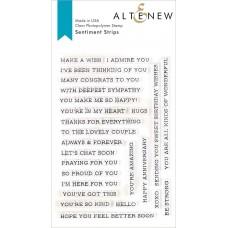 Altenew - Sentiment Strips Stamp Set