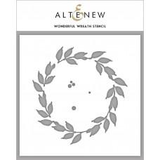 Altenew - Wonderful Wreath Stencil