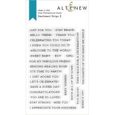 Altenew - Sentiment Strips 2 Stamp Set