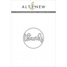 Altenew - Circled Greetings: Thanks Die