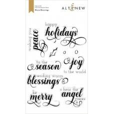 Altenew - Warm Blessings Stamp Set