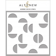 Altenew - Modern Circles Stencil