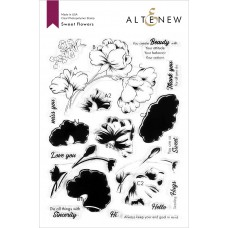 Altenew - Sweet Flowers Stamp Set
