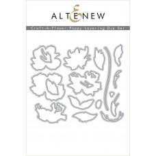 Altenew - Craft-A-Flower: Poppy Layering Die Set