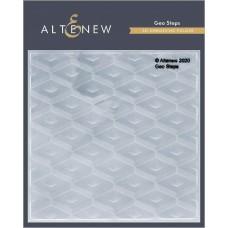 Altenew - Geo Step 3D Embossing Folder