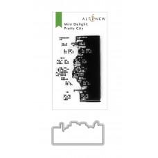 Altenew - Mini Delight: Pretty City Stamp & Die Set