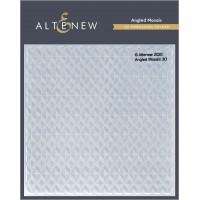 Altenew - Angled Mosaic 3D Embossing Folder
