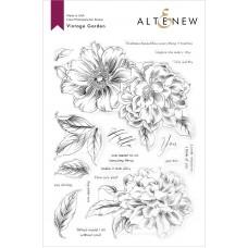 Altenew - Vintage Garden Stamp Set