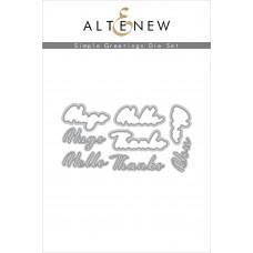 Altenew - Simple Greetings Die Set