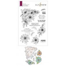 Altenew - Floral Dahlia Stamp and Die Bundle