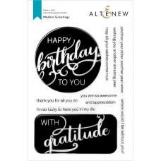 Altenew - Modern Greetings Stamp Set