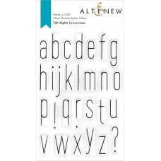 Altenew - Tall Alpha Lowercase Stamp Set