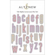 Altenew - Tall Alpha Lowercase Die Set