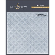 Altenew - Mod Squares 3D Embossing Folder