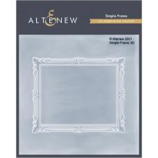 Altenew - Simple Frame 3D Embossing Folder