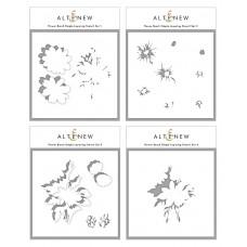 Altenew - Flower Bunch Simple Layering Stencil Set (4 in 1)