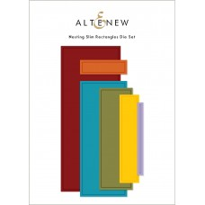 Altenew - Nesting Slim Rectangles Die Set