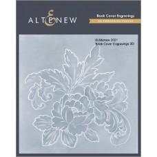 Altenew - Book Cover Engravings 3D Embossing Folder