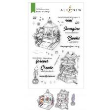 Altenew - Books Are Magic Stamp and Die Bundle