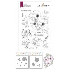 Altenew - Fairy Tale Florals Stamp and Die and Coloring Stencil Bundle