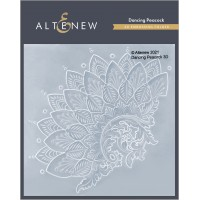 Altenew - Dancing Peacock 3D Embossing Folder