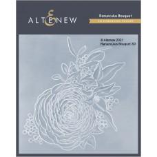 Altenew - Ranunculus Bouquet 3D Embossing Folder
