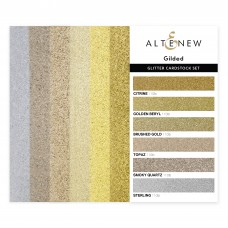 Altenew - Glitter Cardstock Set - Gilded (3 x 6 inches)