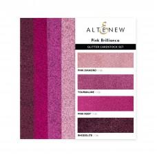 Altenew - Glitter Gradient Cardstock Set - Pink Brilliance (3 x 6 inches)