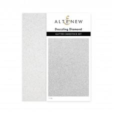 Altenew - Glitter Cardstock Set - Dazzling Diamond (3 x 6 inches)