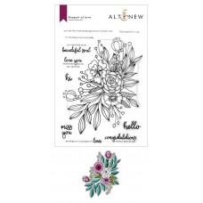 Altenew - Bouquet of Love Stamp and Die Bundle
