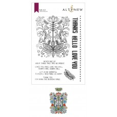 Altenew - Folk Art Stamp and Die Bundle