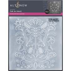 Altenew - Folk Art Motif 3D Embossing Folder